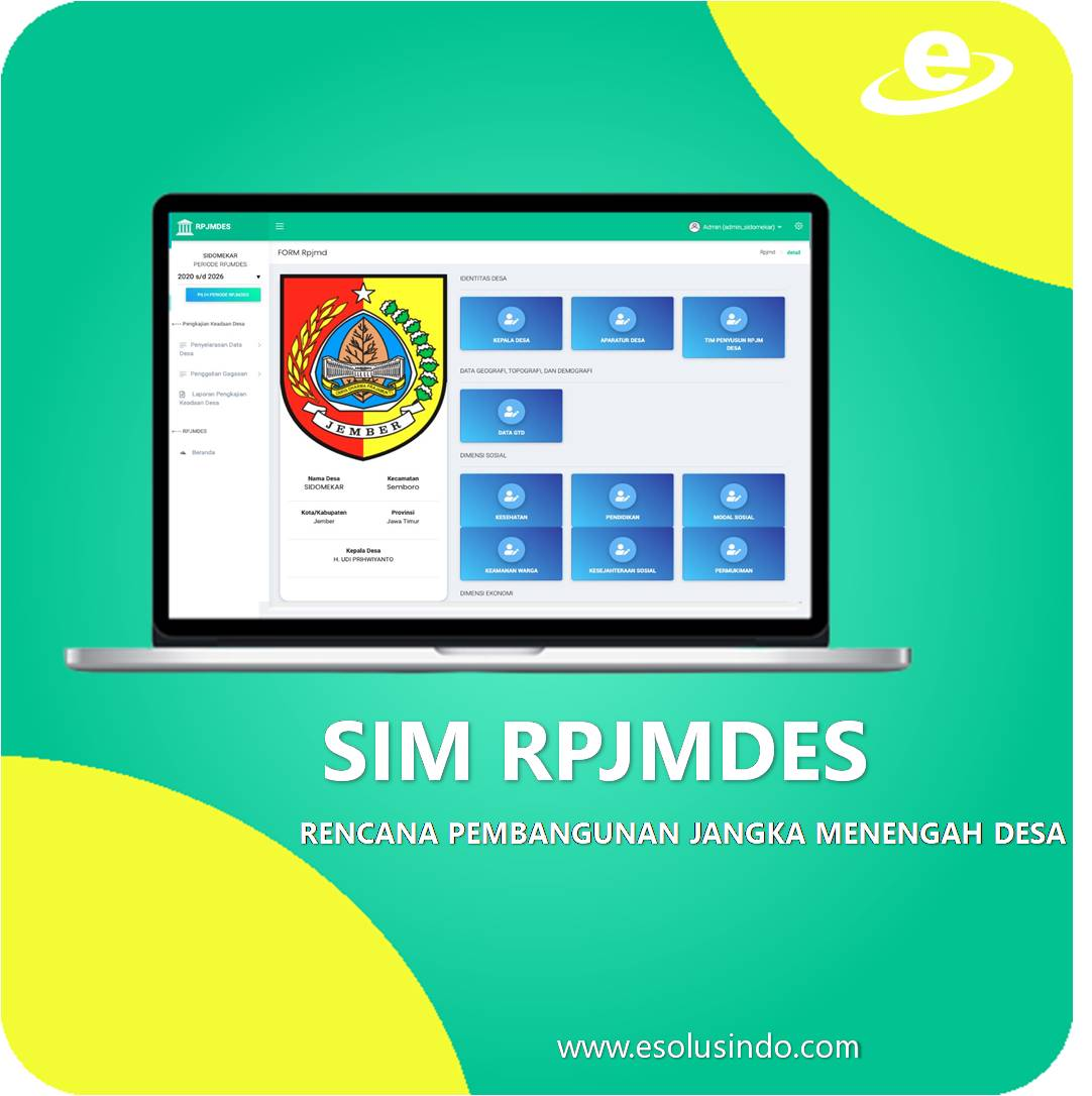 Software House Jember , SIMRS , Klinik , SIMRM